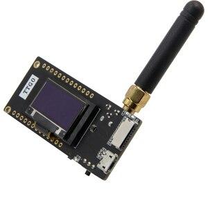LILYGO®TTGO LoRa32 V2.1 _ 1,6 версия 433/868/915 МГц ESP32 LoRa OLED 0,96 МБ Bluetooth WIFI беспроводной модуль