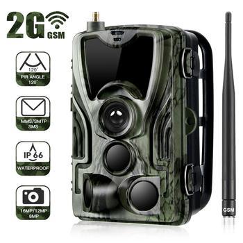 HC-801M 2G Hunting Camera 16MP Trail Camera SMS/MMS/SMTP IP65 Photo Traps 0.3s Trigger Time Camera Trap Wild Cameras