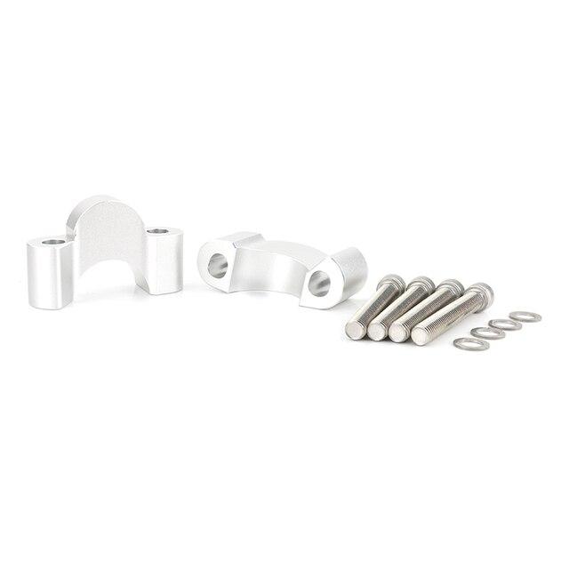 Kit de montage de pince de colonne montante de guidon de moto de CNC pour BMW R1200R R1250R / LC R1200RS R1250RS / LC adaptateur de pince de colonne montante de guidon