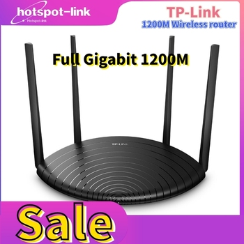 used tp link tl wdr3320 600m 2 4 5ghz dual band wireless network router 4 antenna tp-link router Gigabit wireless router 1200m Gigabit  Wifi Router Dual-Band Repeater 4*6dBi High Gain Antennas Wider Coverage