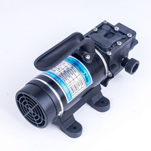 DC 12V 120W 130PSI 10L/Min Mini Water High Pressure Diaphragm Self Priming Pump Return valve type Portable