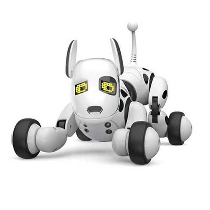 2020 New Remote Control Smart Robot Dog Programable 2.4G Wireless Kids Toy Intelligent Talking Robot Dog Electronic Pet kid Gift 6