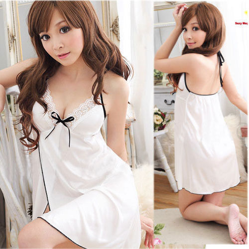 Sexy Lingerie Hot Woman Porno Costumes Erotic Babydolls Lace Teddy Sexi  Dress Female Erotic Sleepwear White