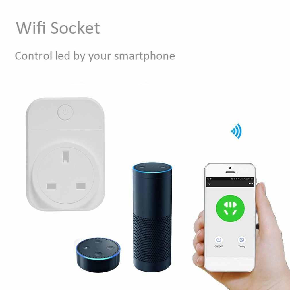 Wifi Smart Plug приложение для телефона с домашней автоматизацией переключатель синхронизации дистанционное управление телефон приложение переключатель синхронизации дистанционное управление Wi-Fi разъем