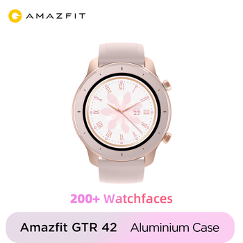 New Global Version New Amazfit GTR 42mm Smart Watch 5ATM Smartwatch 12 Days Battery Music Control For Android IOS phone