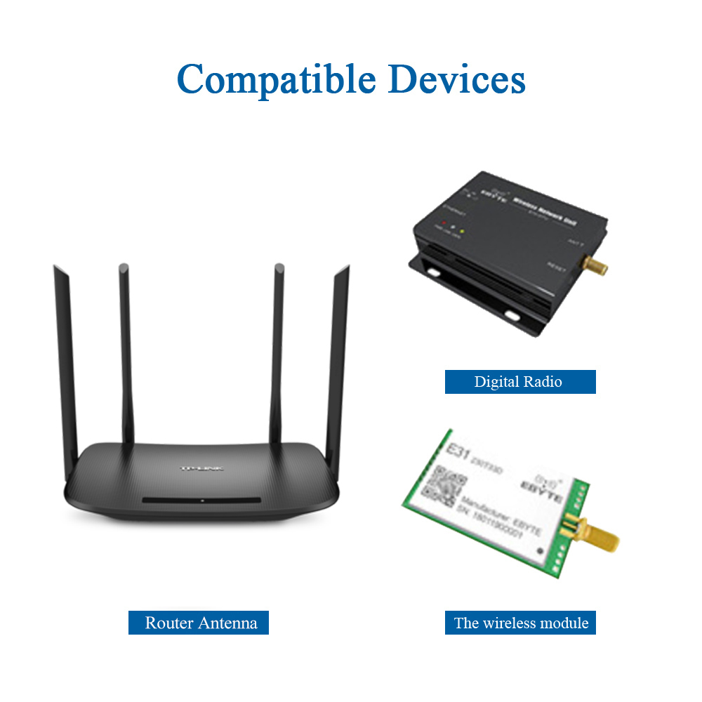 20 433MHz Lora Antenna External 433M Omni Antenna SMA Male for Wireless Module WLAN Monitor DTU Aerial TX433-JKD-20 (3)