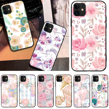 OFFeier Flowers with Phnom Penh Coque Shell Phone Case For iPhone 5 6 6S 7 8 plus X XS XR XS MAX 11 11 pro 11 Pro Max offeier strange things diy luxury phone case for iphone 5 6 6s 7 8 plus x xs xr xs max 11 11 pro 11 pro max