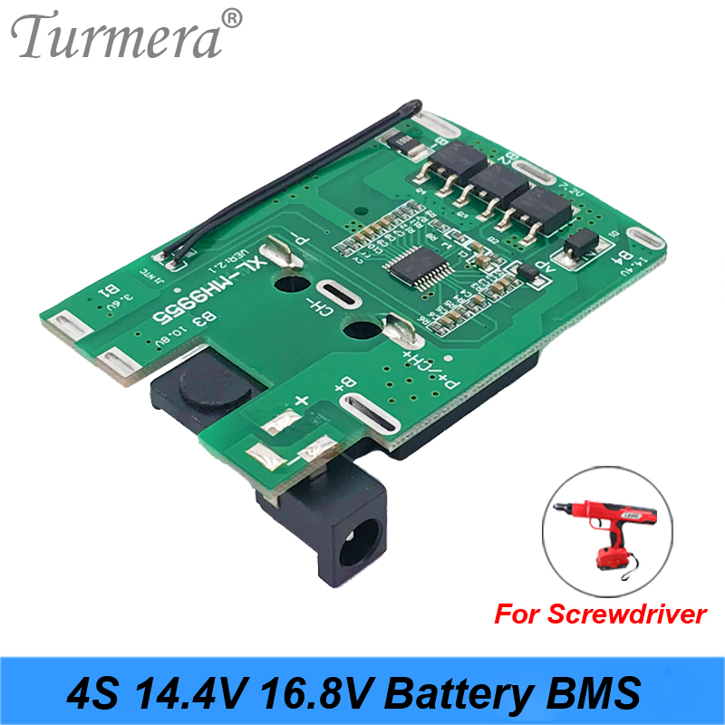 4S 16.8v 14.4v 20A 18650 Li-ion Lithium Battery BMS For Screwdriver Shura Charger Protection Board Fit For Dewalt