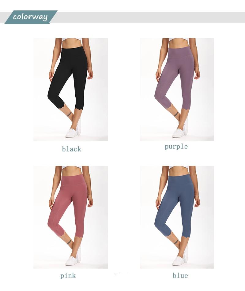 H702c000f565b420da688ab2df4513ecb7 Cardism High Waist Sport Pants Women Yoga Sports Gym Sexy Leggings For Fitness Joggers Push Up Women Calf Length Pants Wave
