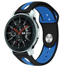 22mm Watch Band For Samsung Galaxy Watch 46mm R800 Gear S3 classic Huami Amazfit Watch Silicone Sport Watch Band Strap 91030 22mm watch band for samsung galaxy watch 46mm gear s3 classic huami amazfit watch silicone sport watch band strap 91011