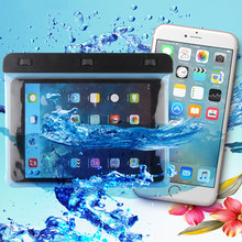 Powstro Water Resistance Pouch Case Cover Protector 7-8 Inch Waterproof Tablet Dry Bag For Ipad Mini1/2/3 KindleSamsung MiPad2/3(China)