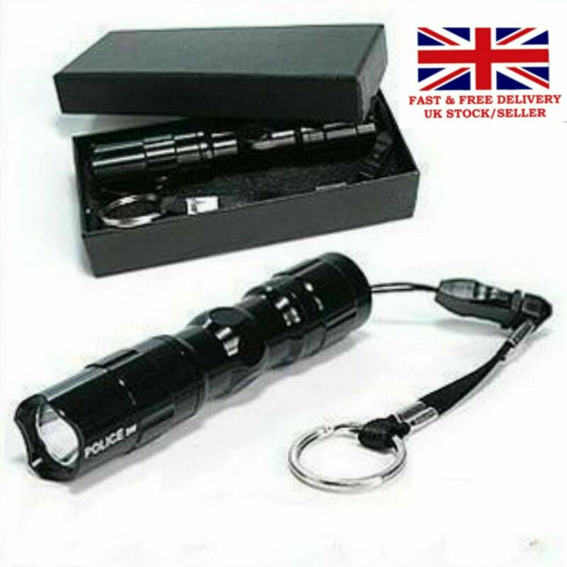 Waterproof Tactical Pocket Sized Flashlight Military LED Torch Flashlight Lamps
