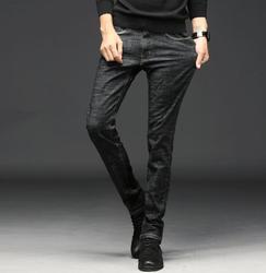 جديد لعام 2020 بنطال جينز رجالي أنيق بتصميم ربيعي عالي الجودة بنطال طويل قابل للتمدد شحن مجاني