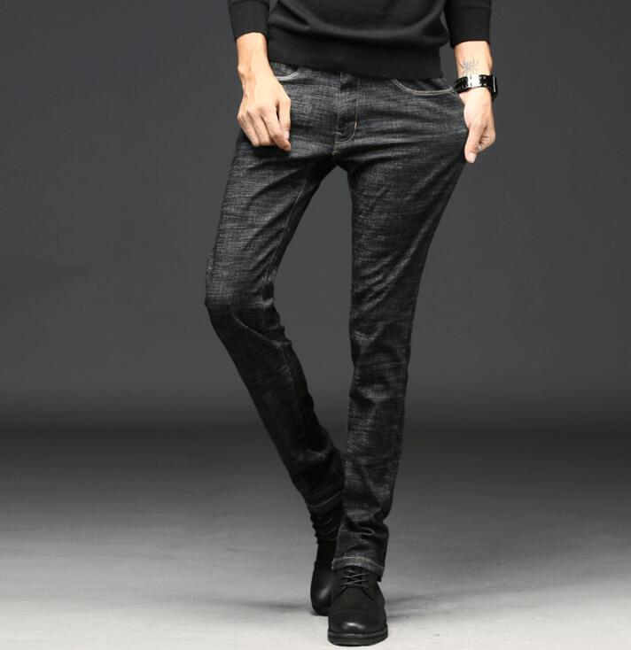 2020 New Stylish Popular Spring Design High Quality Men   Jeans   Stretch Long Pants Free Shipping