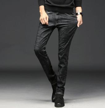 2020 nouveau élégant populaire printemps conception de haute qualité hommes jean Stretch pantalons longs livraison gratuite