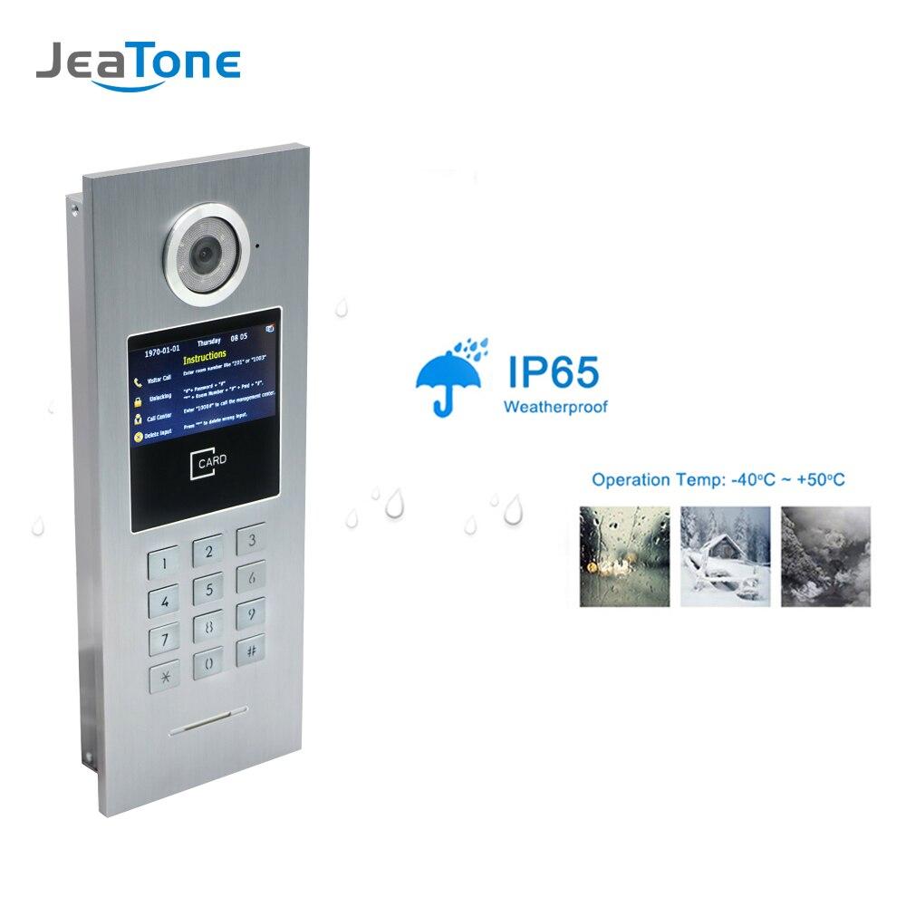 porta telefone ip campainha intercom para edificio 03