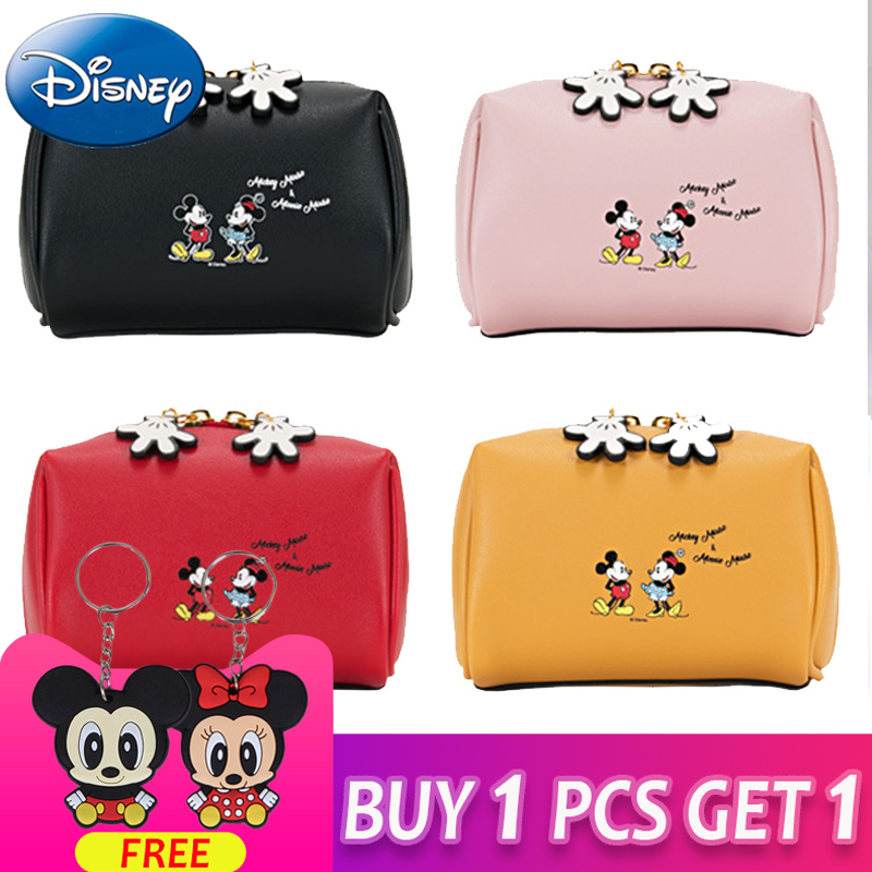 Disney Women Cosmetic Bag Travel Function Makeup Case Zipper Make Up Mummy Bags Organizer-Storage-Pouch Toiletry Beauty Wash Bag