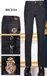 Джинсы BILLIONAIRE мужские, модные, с вышивкой, однотонные, высокая ткань, размеры, бесплатная доставка, 2020