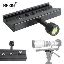Support dobjectif de caméra Support de montage appareil photo numérique libération rapide longue pince adaptateur pince pour Arca suisse caméra trépied rotule