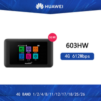 unlocked Huawei 603HW Pocket WiFi 4g mobile mini router wifi portatil repetidor wifi 5ghz 5g wifi router with sim card slot
