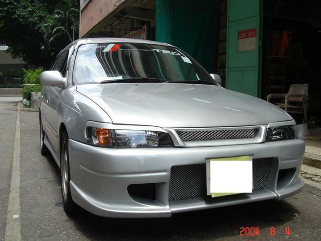 Carbon Fiber Headlight Eyebrows Eyelids for 1993-2000 Toyota Corolla AE100 AE110