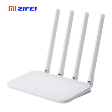 Xiaomi Mi WIFI Router 4C Roteador APP Control 64 RAM 802.11 b/g/n 2.4G 300Mbps 4 Antennas Repeater for Home