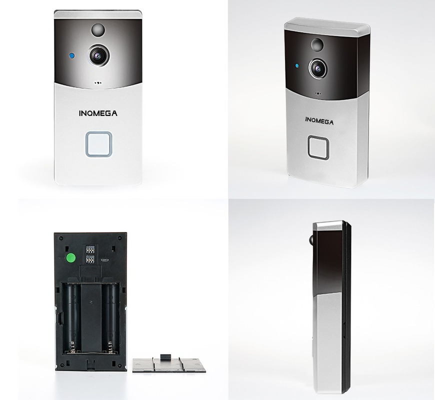 Купить с кэшбэком Video Doorbell Wireless Call Phone Home Security Camera  Bell Remote Control Smart Wifi Deurbel Met Campainha Apartment