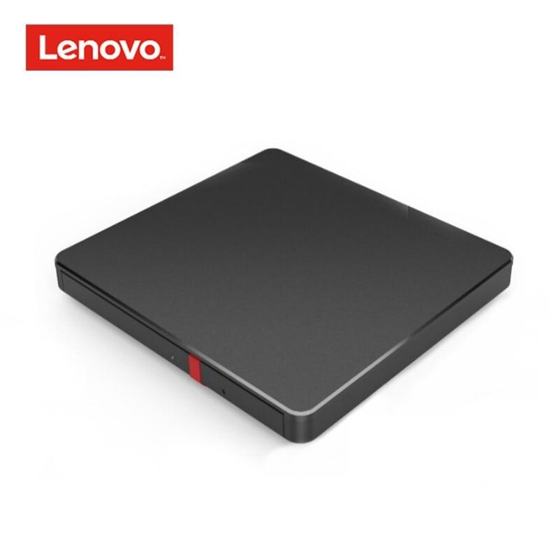 Lenovo Thinkplus USB Type C Slim Portable External Optical Drive CD DVD RW Reader Record Burner Combo For Computer TV Laptop