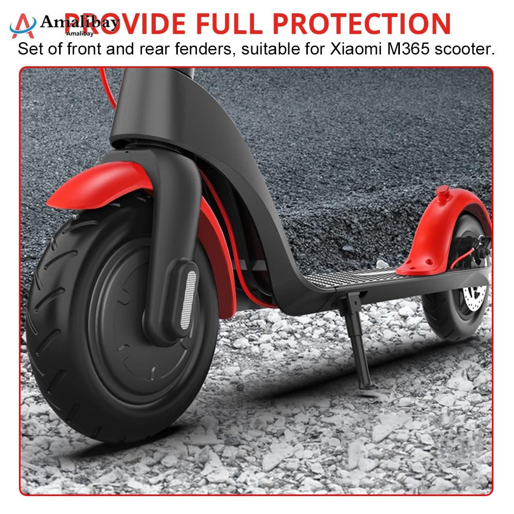Para-lamas scooter elétrico para xiaomi m365 pro