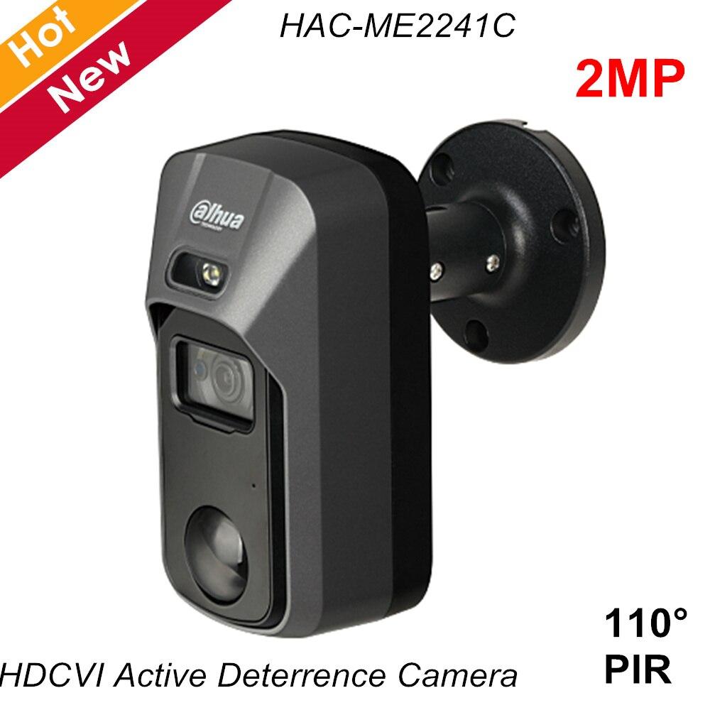 New Dahua 2MP HDCVI Active Deterrence Camera Built-in PIR Smart  IR 20m 110° Detecting Range Waterproof IP67 With Light Siren