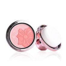 Face Mineral Pigment Blusher Powder  Professional Mushroom Cosmestics Sponge Palette Blush Contour Shadow Makeup Tool ruby rose face makeup cheek blusher pigmented natural face blusher powder cosmestics professional palette blush contour shadow