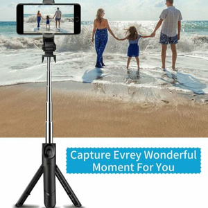 Image 2 - Hot Sale 4 In 1 Wireless Bluetooth Selfie Stick Universal Extendable Tripod with Remote Shutter