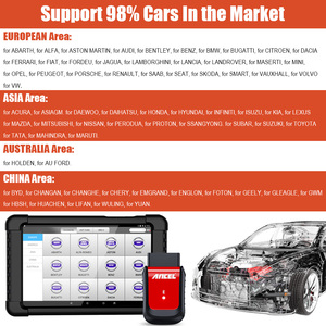 Image 5 - ANCEL X6 OBD2 Scanner Bluetooth Car Diagnostic Tool ABS Oil EPB DPF Throttle Injector Airbag Reset Full Systems OBD2 Scanner