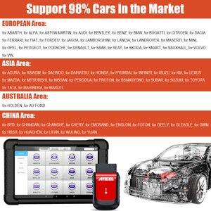 Image 5 - ANCEL herramienta de diagnóstico de coche X6 OBD2, escáner con Bluetooth, aceite ABS EPB DPF, inyector de acelerador, Airbag, reinicio de sistemas completos, escáner OBD2
