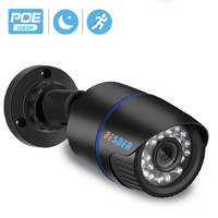 BESDER 2MP Full HD 1080P telecamera IP Bullet Outdoor impermeabile Smart CCTV sicurezza CCTV telecamera Ai Motion Detection RTSP P2P XMEye