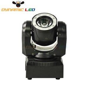 Image 3 - Mini 60W Hareketli Kafa Işık Led Halo Etkisi Ile Işın Led Sahne aydınlatma RGBW 4in1 dj ışığı