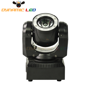 Image 3 - Mini 60W Moving Head Light With Halo Effect Beam Led Stage lighting RGBW 4in1 Dj Light