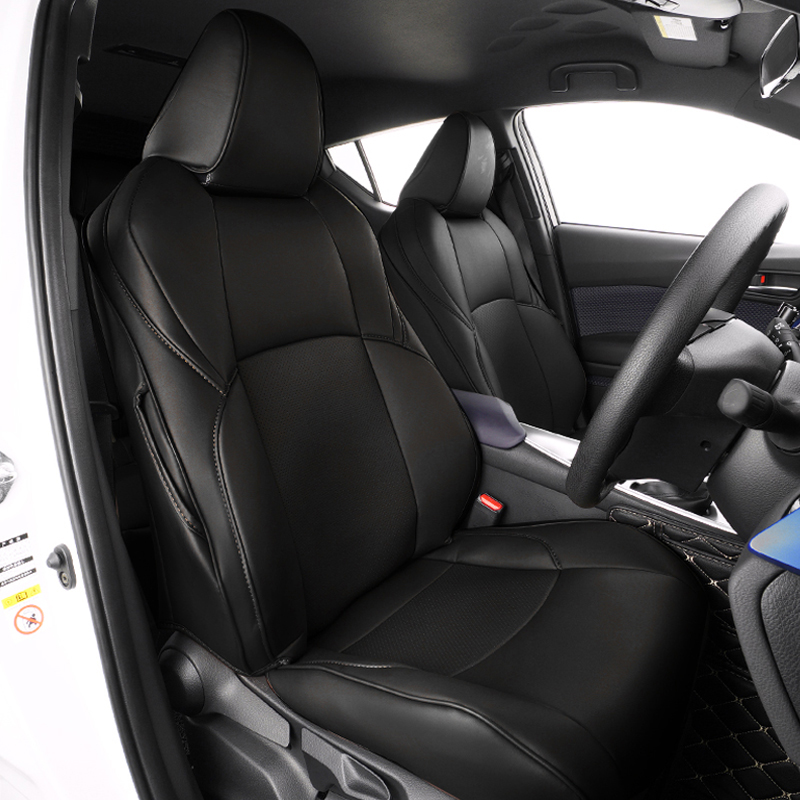 Whole Front Rear Seat Cover For Toyota CHR 2018 ACCESSORIES Safety Air Bag Seat Protection Cover