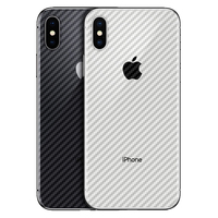Transparent 3D Carbon Fiber Guard Protector Protective Film for iPhone 11 Pro 5 5S 6 6S 7 8 Plus X XR XS Max Back Screen Cover