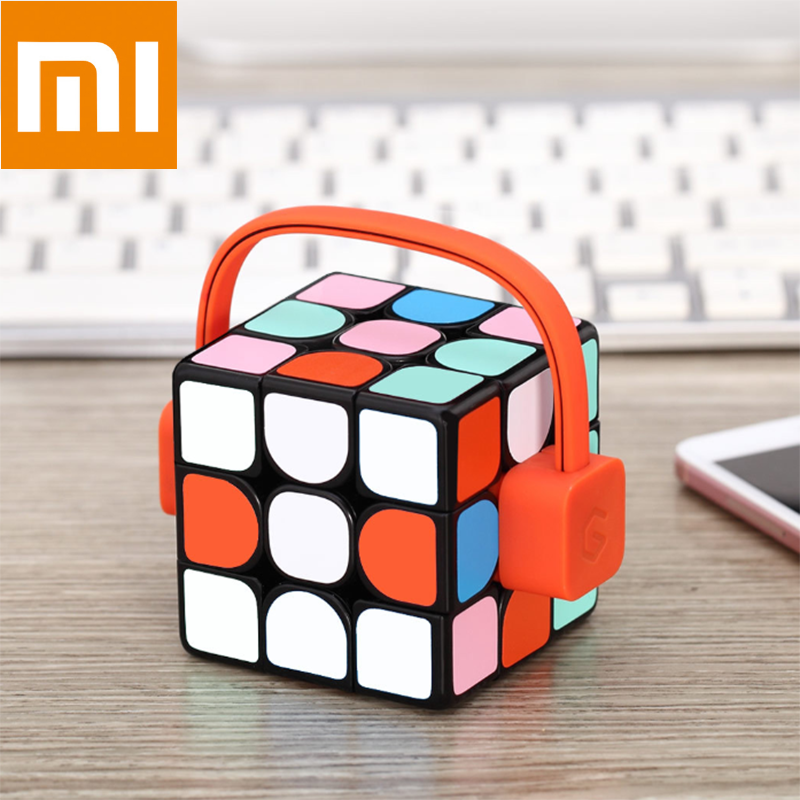 Xiaomi Giiker Super Rubik's Cube I3 Smart Magic Magnetic Bluetooth APP Sync Puzzle Toys For Beginner Gift Learn While Playing