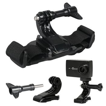 Sport Safety Helmet belt For Gopro series Camera photoing stand suport head belt Outdoor Extreme Sports camera accessories
