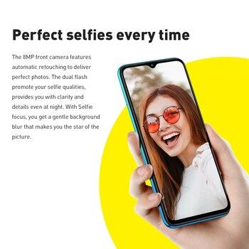 Global Version Infinix Hot 10 Lite 2GB 32GB Smart Phone 6.6''HD Screen Mobile Phone 5000mAh Battery 13MP AI Triple Camera 2