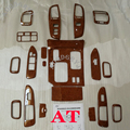 Автомобильная внутренняя отделка древесины тире набор подходит для Toyota Land cruiser LC100 MT или на 4500 4700 2003-2007