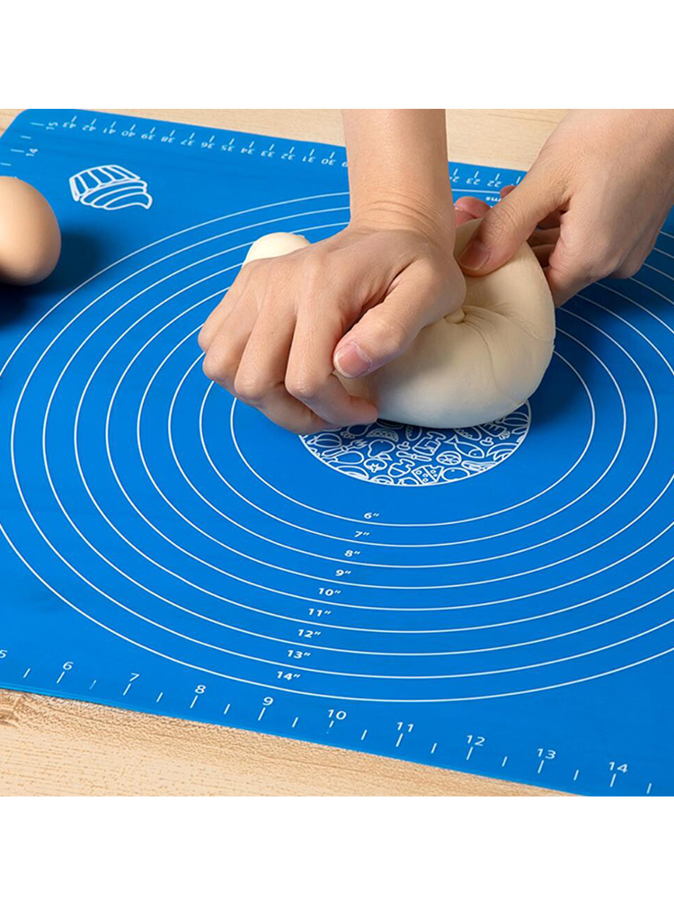 Dough-Mat Pastry-Accessories Baking-Tools Cookie-Cake Kneading Non-Stick Silicone Kitchen