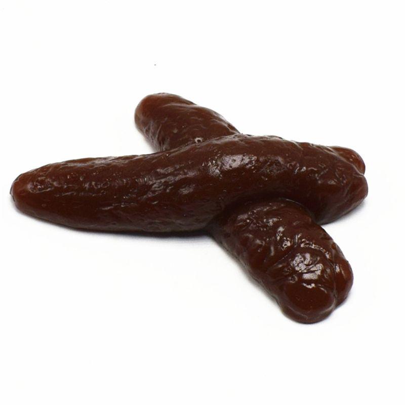New Realistic Shits Poop Fake Turd Gag Funny Joke Classic Shit Funny Toys Kids Toy Q6PD