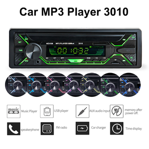Car Radio Stereo Player 3010 Autoradio Aux Input Receiver 1din Bluetooth Stereo Radio MP3 Multimedia Player Support FM/WMA/USB