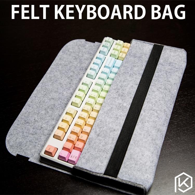 毛毡机械键盘包