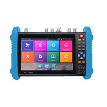 цена на Ip Camera Tester 7 Inch Hd Ips Press Screen 1280 x 800 Cctv Tester Monitor Ahd Tvi Cvi Sdi Tdr H.265 Multimeter Ipc-9800 Movta