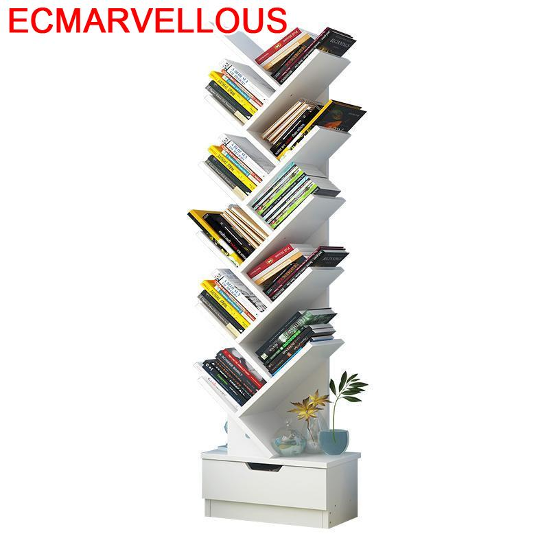 Librero Boekenkast Mobili Per La Casa decoración de Las Camperas de madera decoración del hogar estante de La librería decoración mueble de estantería