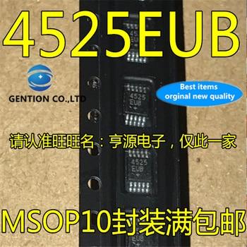 5Pcs MAX4525 MAX4525EUB 4525EUB MSOP10 in stock  100% new and original